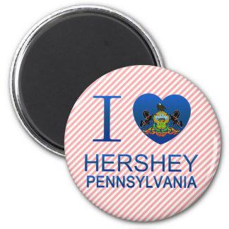 Imã Eu amo Hershey, PA