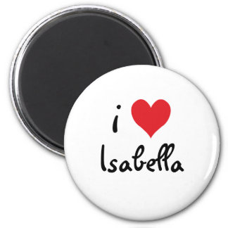 Imã Eu amo Isabella