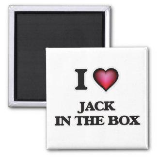Imã Eu amo Jack in the Box