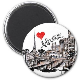 Imã Eu amo Melbourne