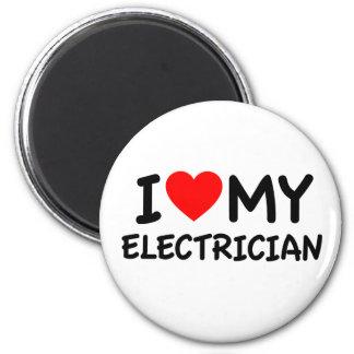 Imã Eu amo meu eletricista