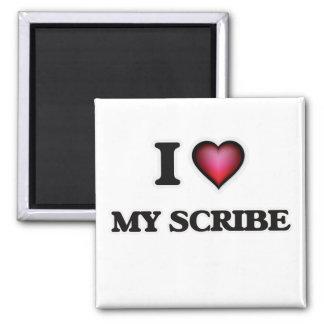 Imã Eu amo meu escrevente