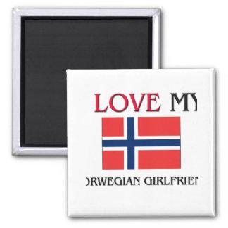 Imã Eu amo meu namorada norueguês