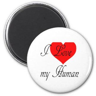 Imã Eu amo meu ser humano