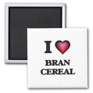 Imã Eu amo o cereal do farelo