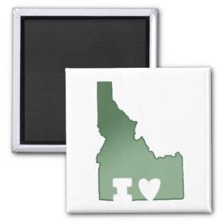 Imã Eu amo o ímã de Idaho