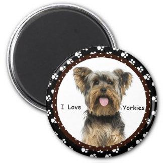 Imã Eu amo o ímã de Yorkies