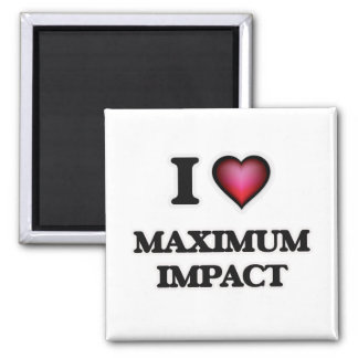 Imã Eu amo o impacto máximo
