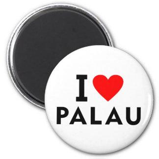Imã Eu amo o país de Palau como o turismo do viagem do