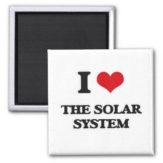 Imã Eu amo o sistema solar