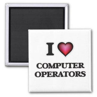Imã Eu amo operadores de computador