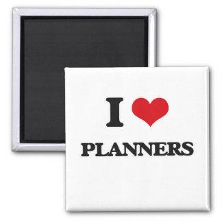 Imã Eu amo planejadores
