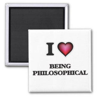 Imã Eu amo ser filosófico