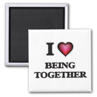 Imã Eu amo ser junto