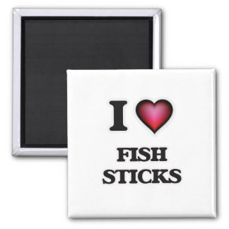 Imã Eu amo varas de peixes