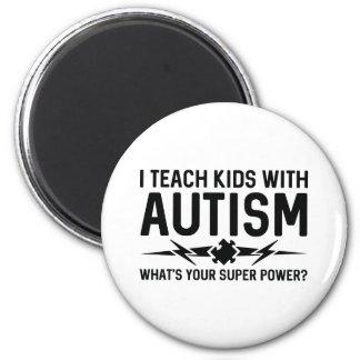 Imã Eu ensino miúdos com autismo