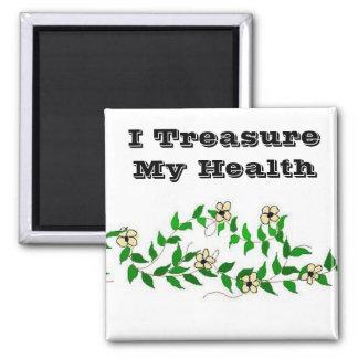 Imã Eu estimo minha saúde