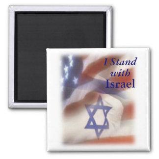 Imã Eu estou com a estrela de David de Israel na