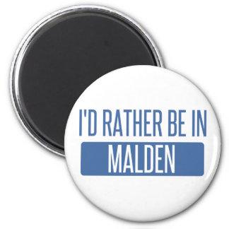 Imã Eu preferencialmente estaria em Malden