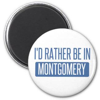 Imã Eu preferencialmente estaria em Montgomery