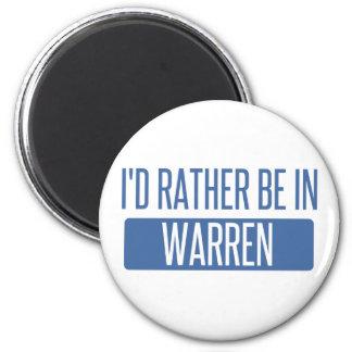 Imã Eu preferencialmente estaria em Warren MI