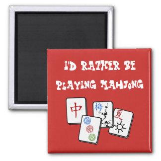 Imã Eu preferencialmente estaria jogando Mahjong
