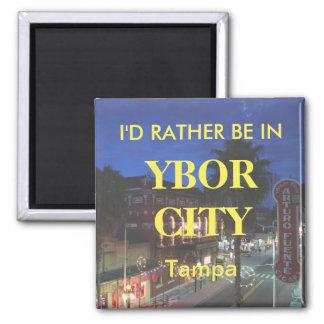 Imã Eu preferencialmente estaria na cidade de Ybor