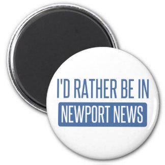 Imã Eu preferencialmente estaria na notícia de Newport