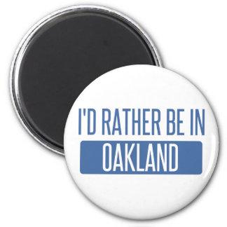 Imã Eu preferencialmente estaria no parque de Oakland