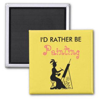 Imã Eu preferencialmente estaria pintando