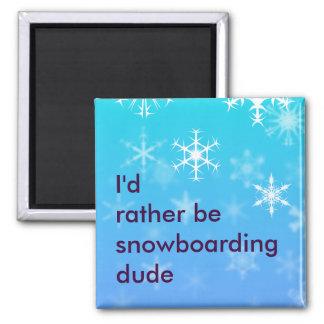 Imã Eu preferencialmente seria snowboarding