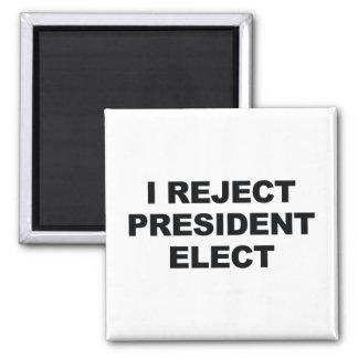 Imã Eu rejeito o presidente Eleger