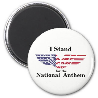 Imã Eu represento o hino nacional