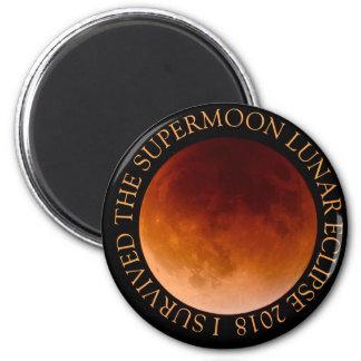 Imã Eu sobrevivi ao ímã 2018 do eclipse lunar de