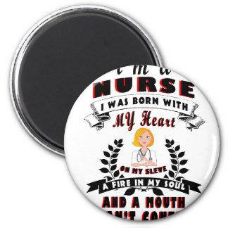 Imã Eu sou uma enfermeira que eu era nascido com um