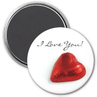 Imã Eu te amo - coração do amor