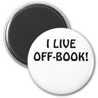 Imã Eu vivo fora do livro