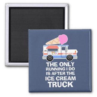Imã Exercício do caminhão do sorvete