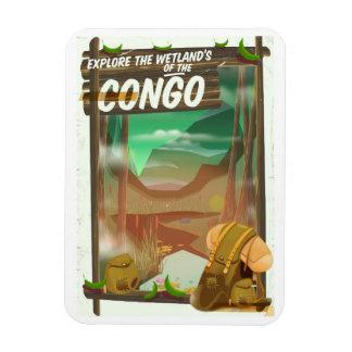 Ímã Explore os pantanais do Congo