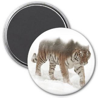 Imã Exposição-animais selvagens tigre-Tigre-dobro