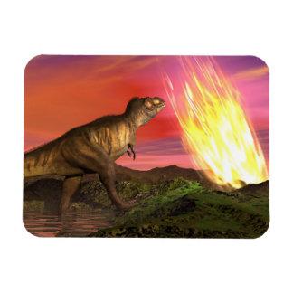 Ímã Extinção dos dinossauros - 3D rendem