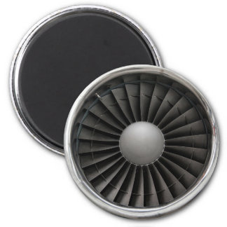 Imã Fã da turbina do motor de jato