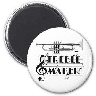 Imã Fabricante do triplo do jogador de trombeta
