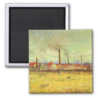 Imã Fábricas em Asnieres por Vincent van Gogh