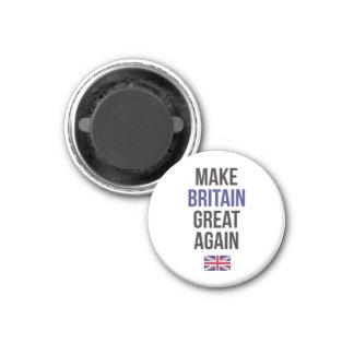 Imã Faça a bandeira Brexit do Reino Unido primeiro do