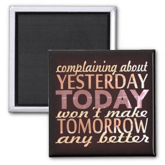 Imã Faça amanhã melhor