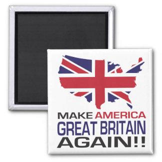 Imã Faça América Grâ Bretanha outra vez!