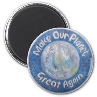 Imã Faça nosso excelente do planeta outra vez: Pare o