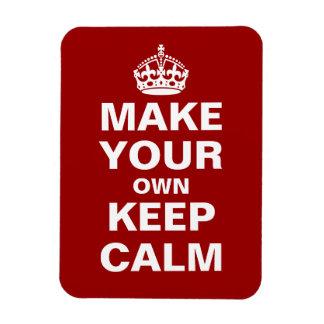 Ímã Faça seus próprios manter a calma e continuar o ím