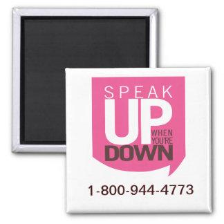 Imã Fale acima de quando você é abaixo do ímã